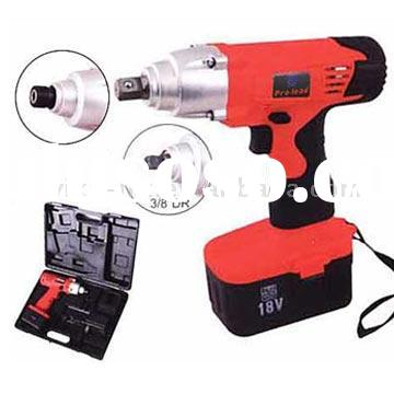 "3/8"" & 1/2"" Cordless Impact Wrench"
