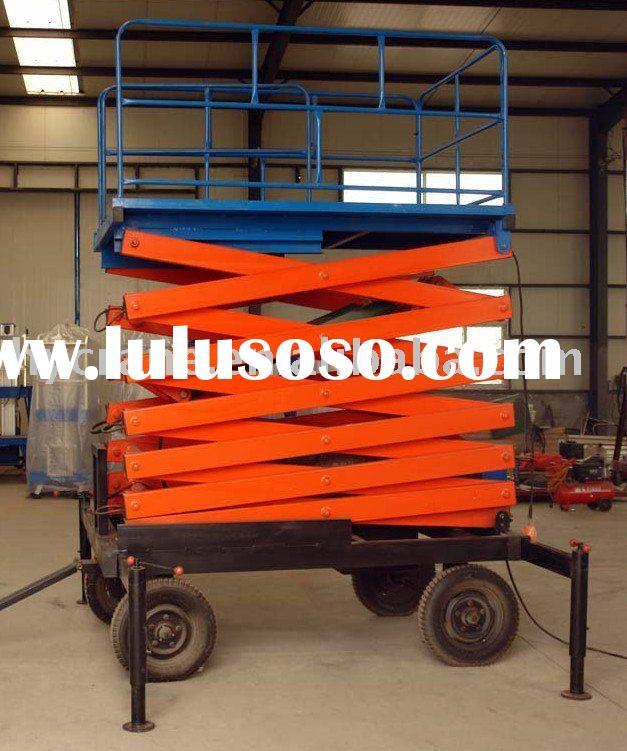 3 Ton Adjustable Electric Scissor Lift Jack