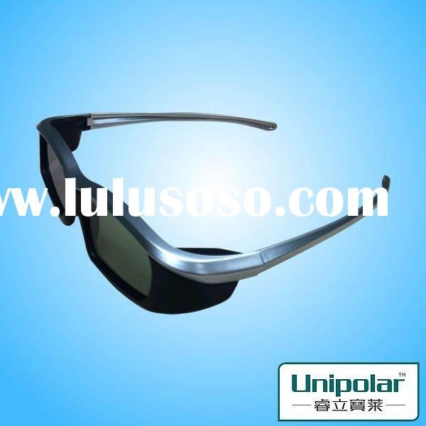 3d led tv with glasses use for multi-brand 3D TV glasses
