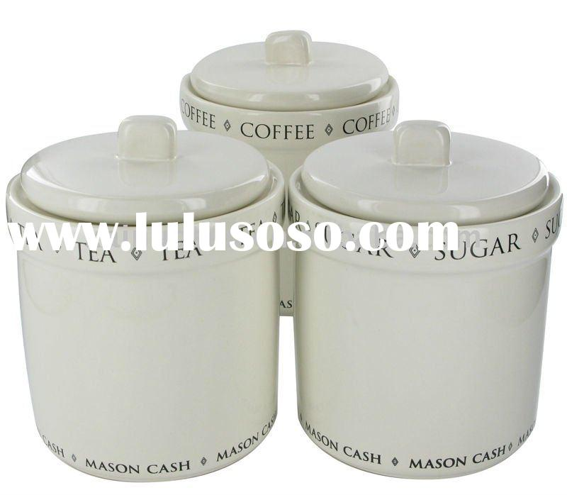 Flour Sugar Tea Canisters Sugar Tea Canister Set