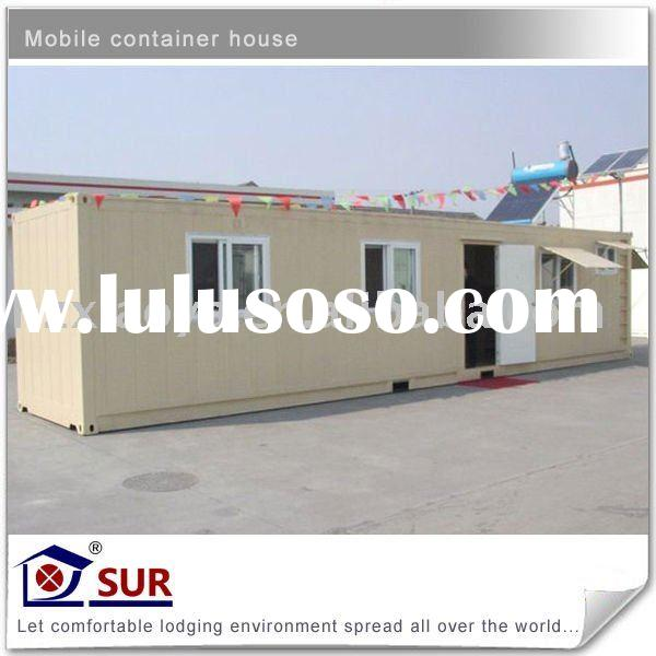 40' shipping container Container house(prefabricated house, mobile container house)