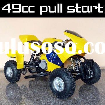49cc pull start 2 stroke mini quad ATV for kids 50cc 2 shock atv