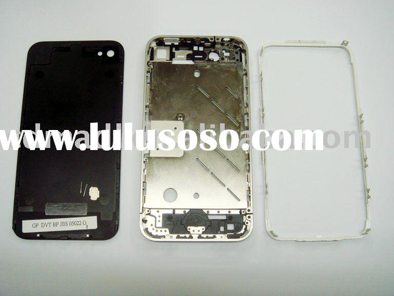 4G OEM housing back cover bezel lens middle plate for iphone