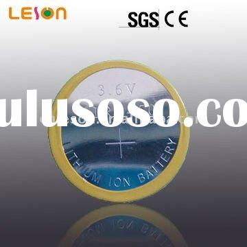 4.2V high voltage and Current Recycle rechargeable battery Li-ion button cell LIR2450