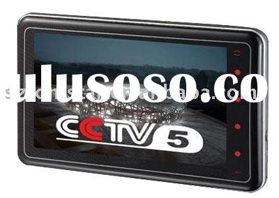 "4.3""TFT Sliding Touch screen mp4 player with DVB-T Function"