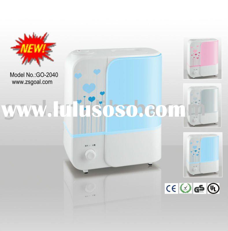 4.8L Ultrasonic cold air humidifiers mist maker