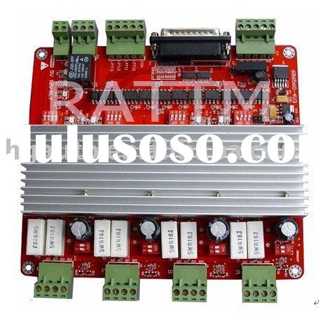 4 Axis CNC controller TB6560 Stepper Motor Driver Board For Router Mill V type