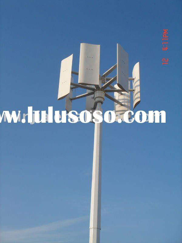 5KW Vertical Wind Turbine Generator