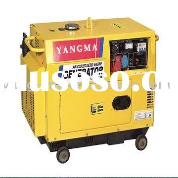 5KW canopy portable soundproof diesel generator with ATS