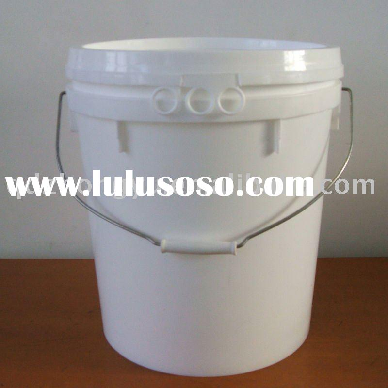 5 Gallon HDPE paint bucket plastic pail with lid