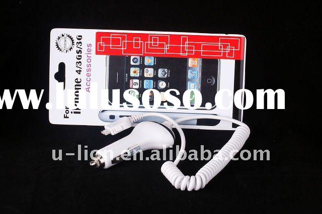 5v Universal Car Charger for iPhone 3G,4/iPod series, For iphone accessories