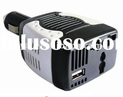 75W Car inverter with USB 5V