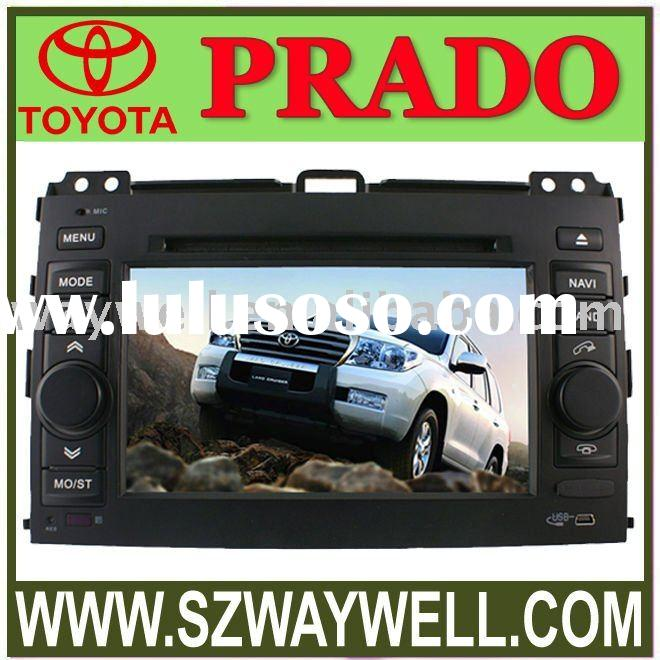 7 inch Car In-dash DVD Player for Toyota Prado with Touch Screen - TV - Bluetooth - GPS - RDS - USB/