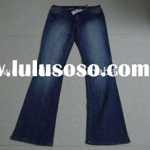 99% COTTON 1% SPANDEX LADIES FASHION DENIM JEANS