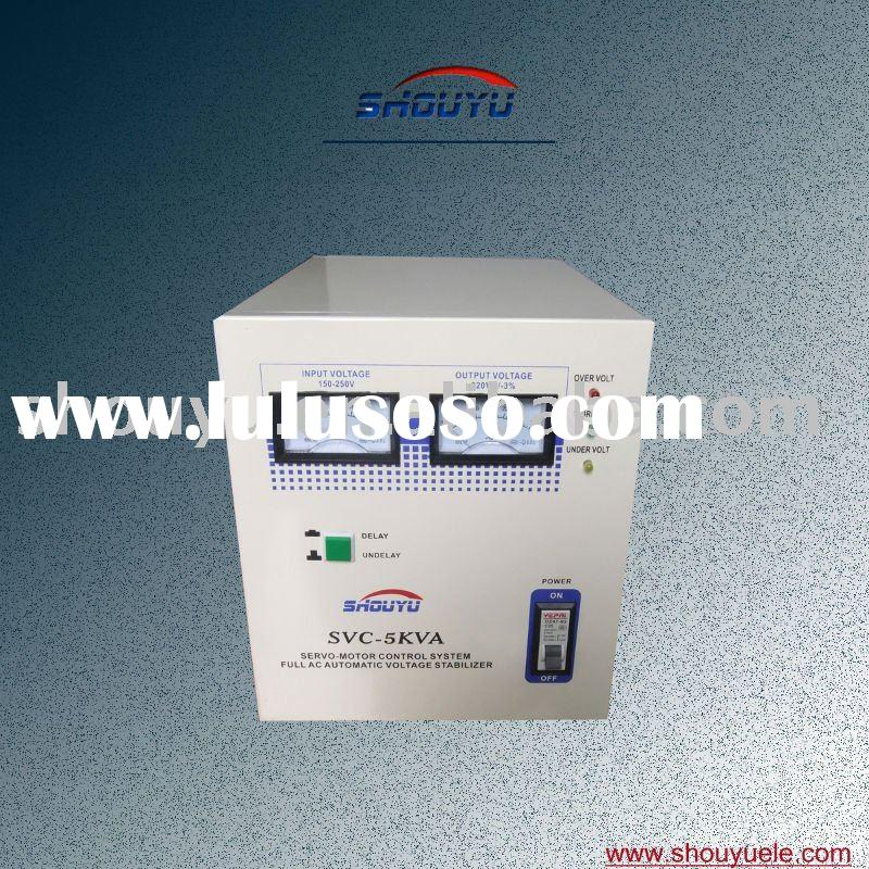 AC. Automatic Servo Motor Control Voltage Regulator SVC-5000VA Sleep Type