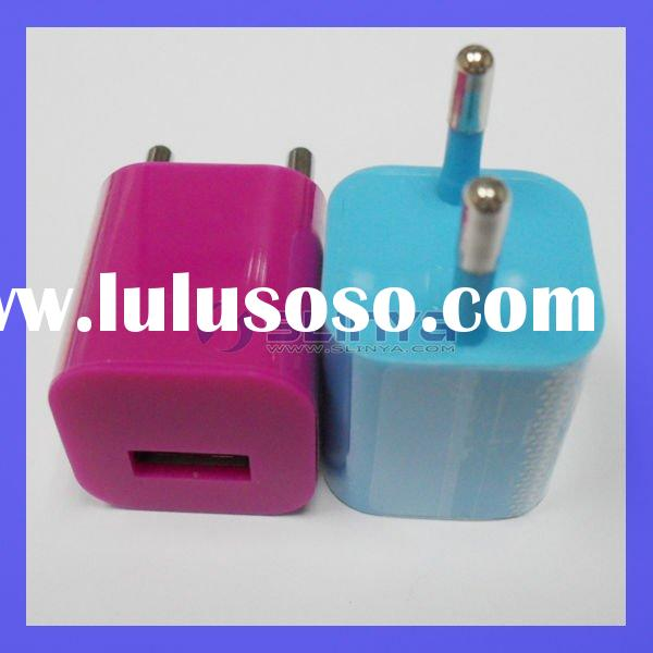 AC Power USB Wall Travel Charger Adapter For iPod iPhone