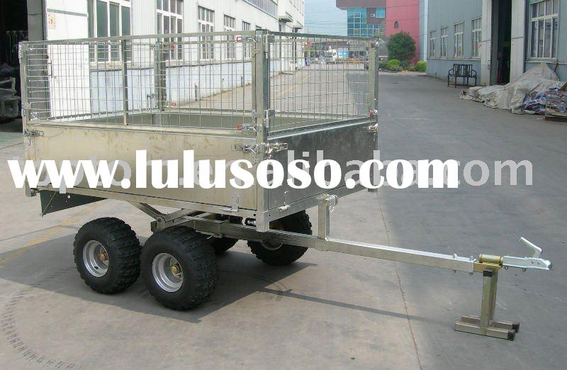 ATV Trailer, Two Axles Box Trailer