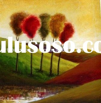 Abstract tree paintings(abstract painting,abstract art painting)