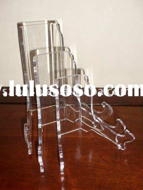 Acrylic Bowl Stand,Plexiglass Plate Rack,Perspex Dish Display
