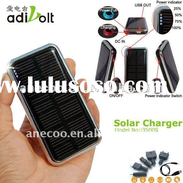 Adivolt portable rechargeable 12v solar car battery charger