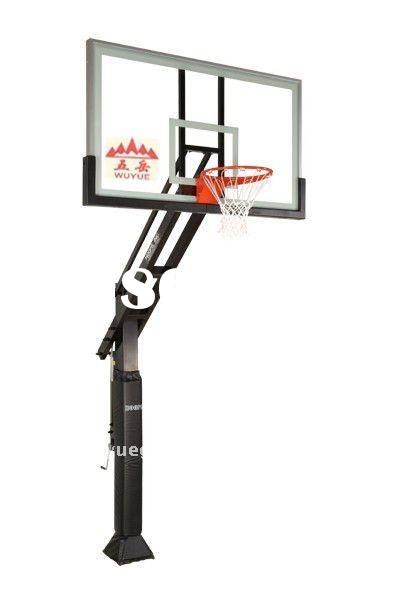 Adjustable Inground Basketball Hoop
