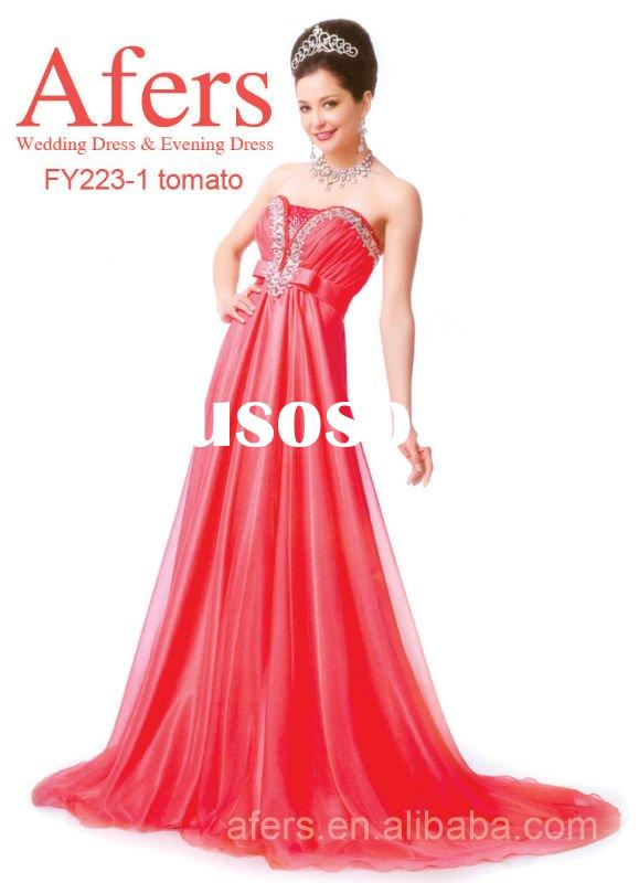 Afers graceful prom dress,Long Charming Design Evening Dress,new design party dress NO.FY223-1
