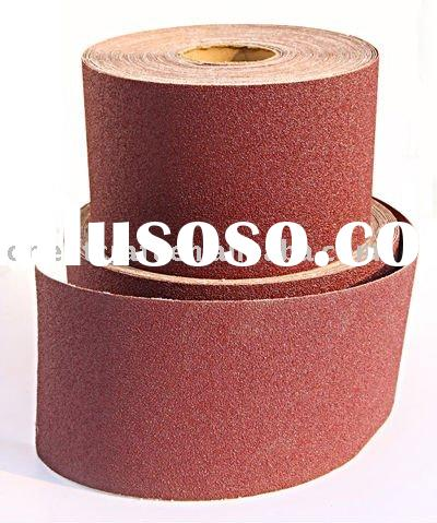 Aluminium Oxide abrasive cloth roll