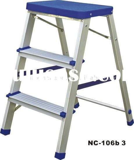 Aluminum Ladder step ladder,folding ladder ,step stool NC-106