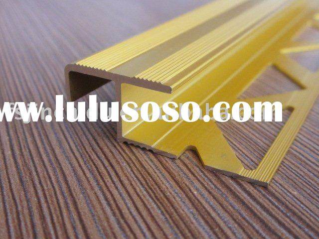Aluminum tile cover trims& flat aluminum floor trim