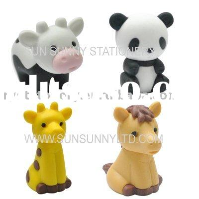 Animal erasers/NEW