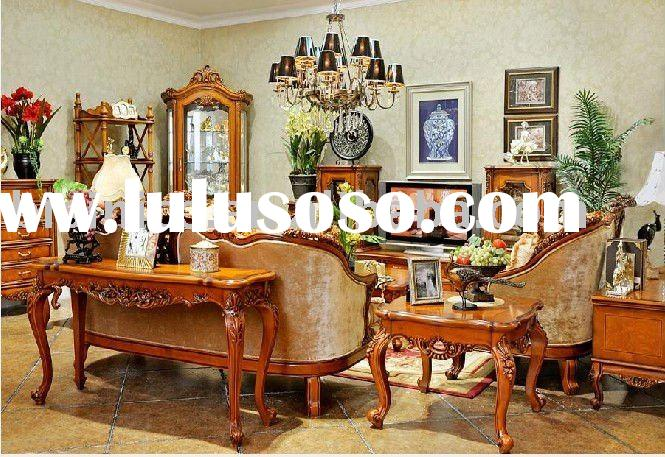 Antique American style living room furniture B49065