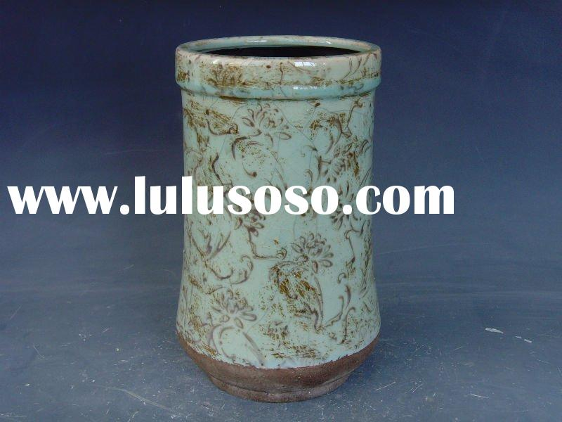 Antique flower pots