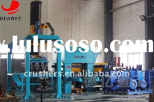 Automatic Fly Ash Bricks Making Machine (DY1100), automatic hydraulic pressure brick making machine
