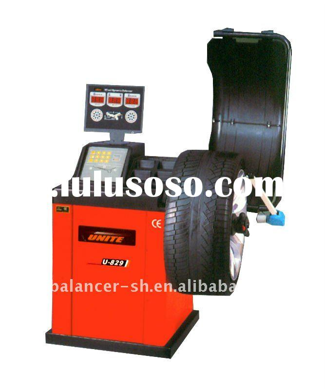 Automotive workshop equipment of wheel balancer with CE