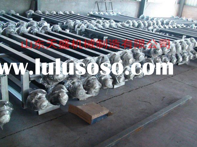 Axle shaft tipping trailer parts