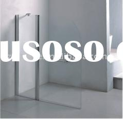 Bathroom 6mm tempered glass folding shower screen/ door HTSS-87C06