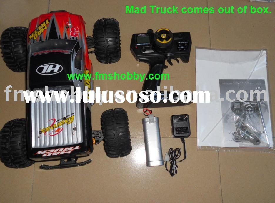 Battery Remote Control Car Mad Truck