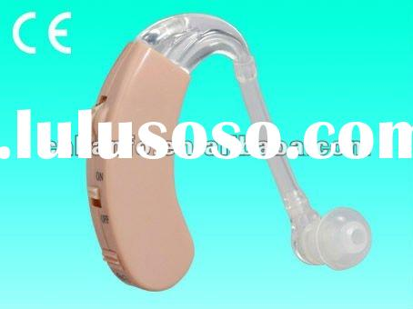 Behind the ear hearing aid (Gas Channel)