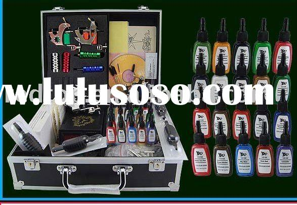 Professional tattoo kit complete with 2 guns professional for How much does a tattoo gun cost