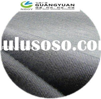 Breathable, soft and antibacterial bamboo fabric which contain 100%bamboo fiber