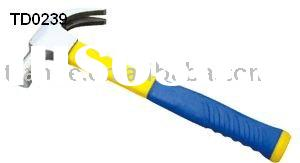 British type claw hammer(plastic coating handle)