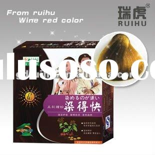 Brown Color Hair Shampoo(ammonia hair color)