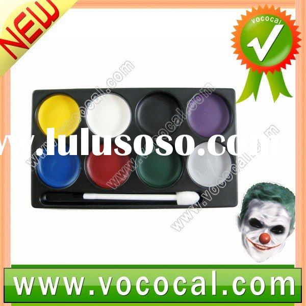 Buffoon Paint Halloween Clown Face Make-up