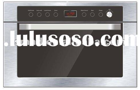 Built-in convection microwave oven