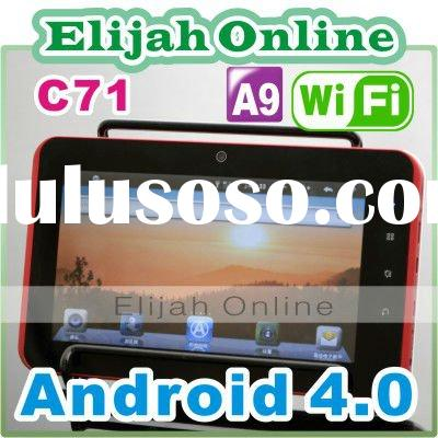 C71 Android 4.0 Tablet PC Video Chat Cheapest Capacitive Tablet
