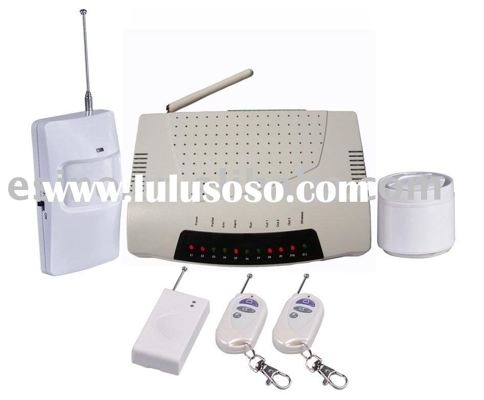 CDMA security products, wireless alarm system, GSM alarm system, security alarm system,