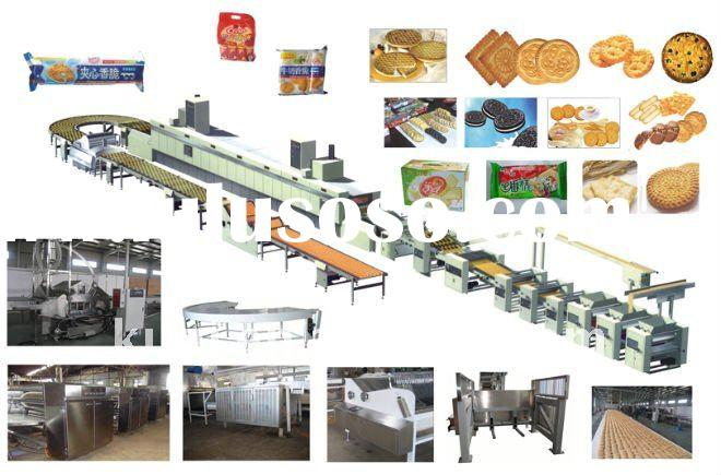 CE Proved Biscuit Production Line Natural Gas Baking Oven