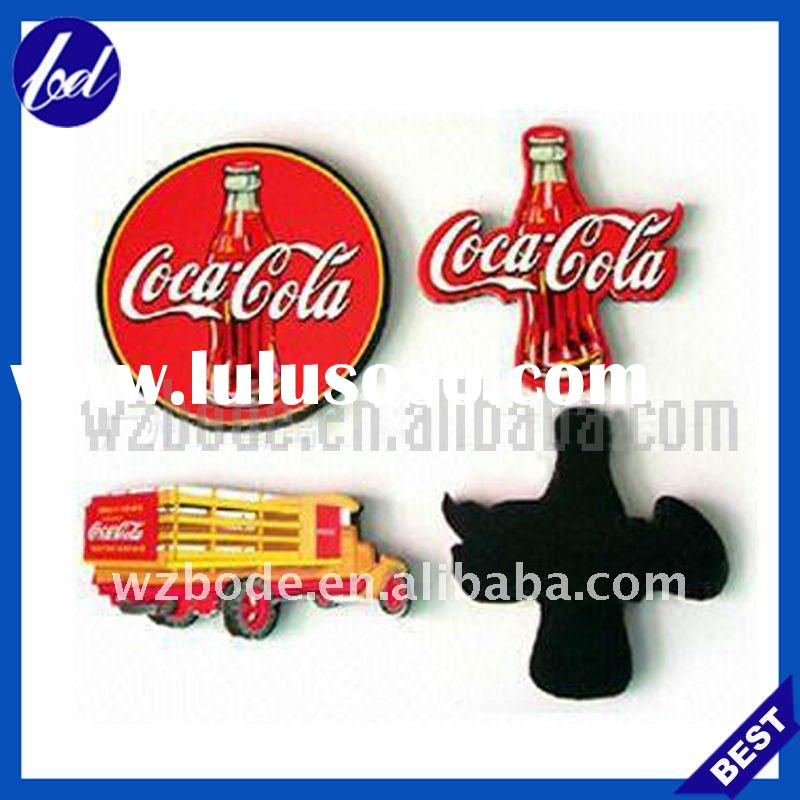 COCA COLA & cross paper fridge magnet