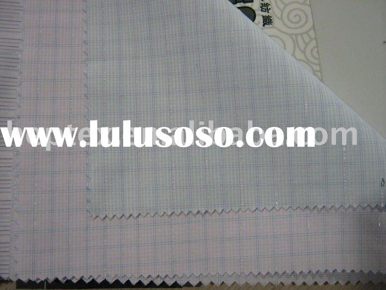 CVC 60/40 yarn dyed plaid shirt fabric