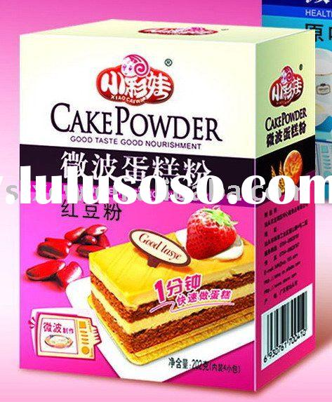 Cake Flour--do cake at home with Microwave